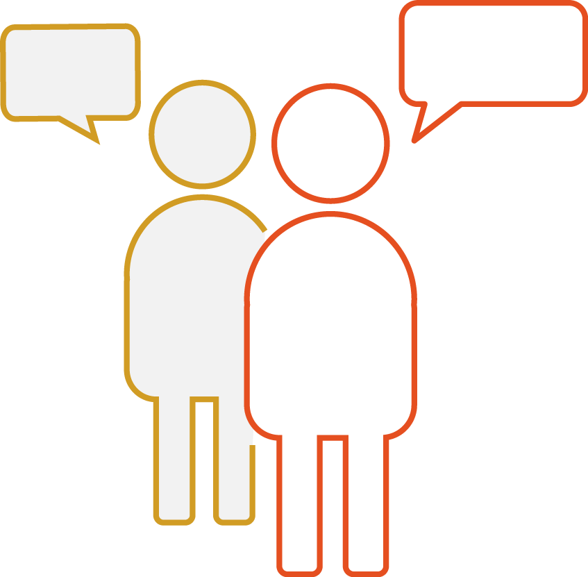 Icon for Talking safety