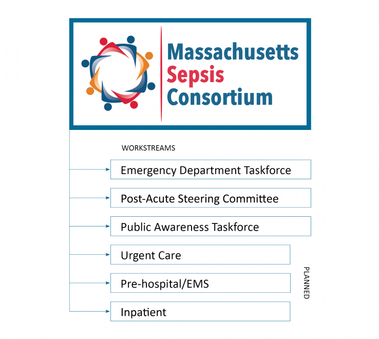 Sepsis Consortium workflow graphic