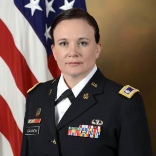 BIO: Lieutenant Colonel Susan M. Gannon